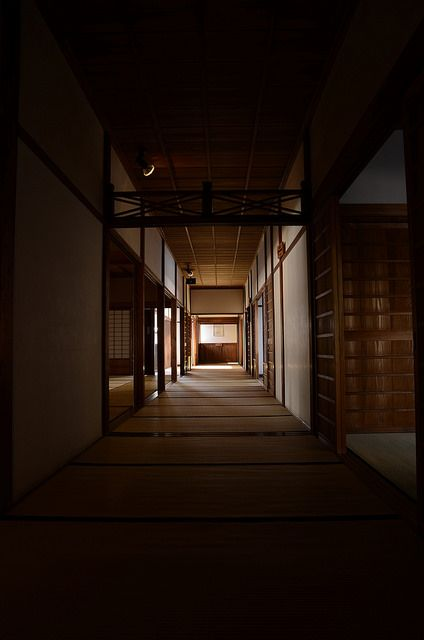 Corridor hallway of Japanese traditional house