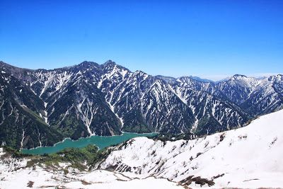 Japan, Alps in May