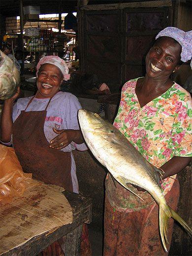 Grand marché Marcory Abidjan