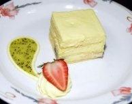 Prajitura Alba ca Zapada aka snow white cake