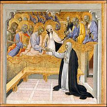 The Mystic Marriage of Saint Catherine of Siena (1347–1380) by Giovanni di Paolo, ca. 1460 (Metropolitan Museum of Art, New York)  Dominican Order - Wikipedia