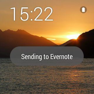 Evernote Wear Android Wear App – Take Note on your Watch