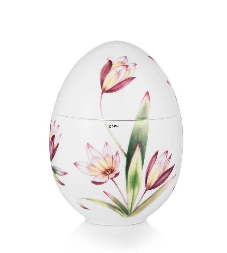 Bonbonniere with tulip, standing, Royal Copenhagen Easter Egg 2015
