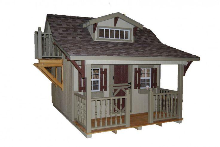 Craftsmen Playhouse - Playhouses - Kids Furniture and Playhouses - Outdoor Furniture
