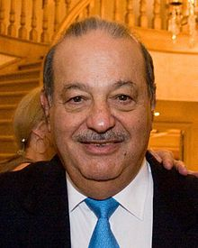 Carlos Slim ( 1940 - ) a Mexican business magnate, investor, and philanthropist.[2][3] From 2010 to 2013, Slim was ranked as the richest person in the world.[4][5] He derived his fortune from his extensive holdings in a considerable number of Mexican companies through his conglomerate, Grupo Carso.[6] As of 31 July 2016 he was #7 on Forbes list of billionaires, with a net worth estimated at US$50 billion.