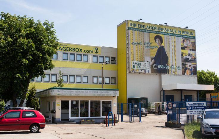 Selfstorage Lagerraum mieten bei LAGERBOX Berlin Hohenschönhausen - sicher, sauber und trocken!!!