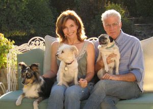 Ted Danson | Community Post: 13 Celebrities With Pugs