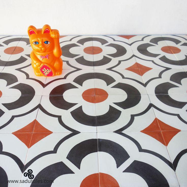 Sadus Tiles handmade cement tiles on order from Bali - Indonesia