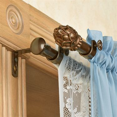 1000+ ideas about Double Curtain Rod Set on Pinterest | Double ...