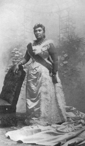 Queen Liliuokalani of Hawai'i, who stood by her people and her country even when she was being punished for doing so.