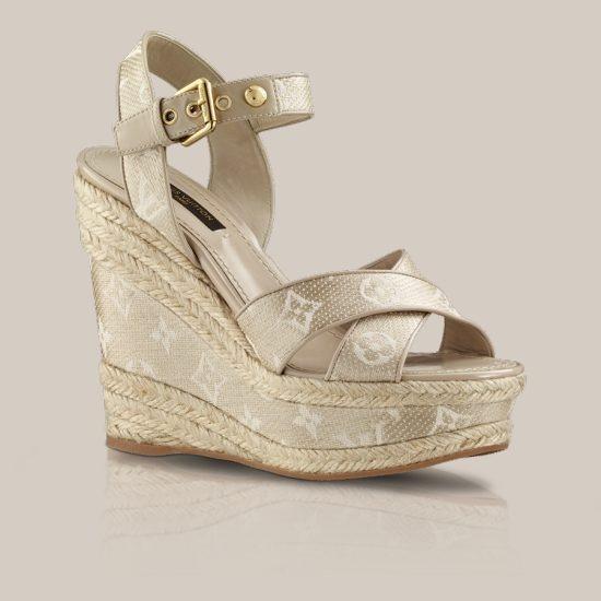 66d20d85871 Nil sandal in textile via Louis Vuitton