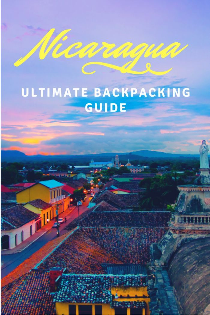 The ultimate budget travel guide for backpacking Nicaragua - a fascinating land with volcanoes, chicken buses and gorgeous fresh water pools!