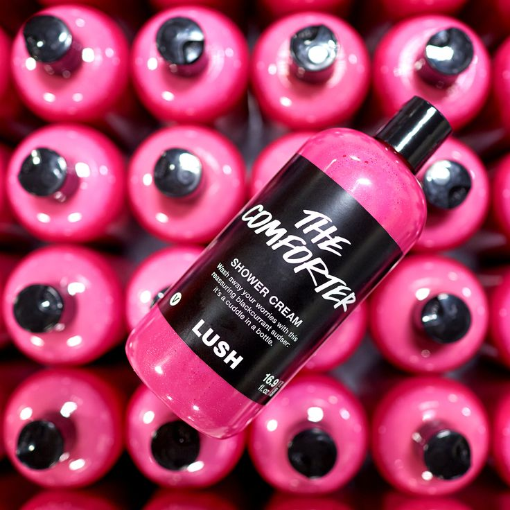 The Comforter Shower Gel: This blackberry and vanilla concoction will lift your mood all the way up. a favorite