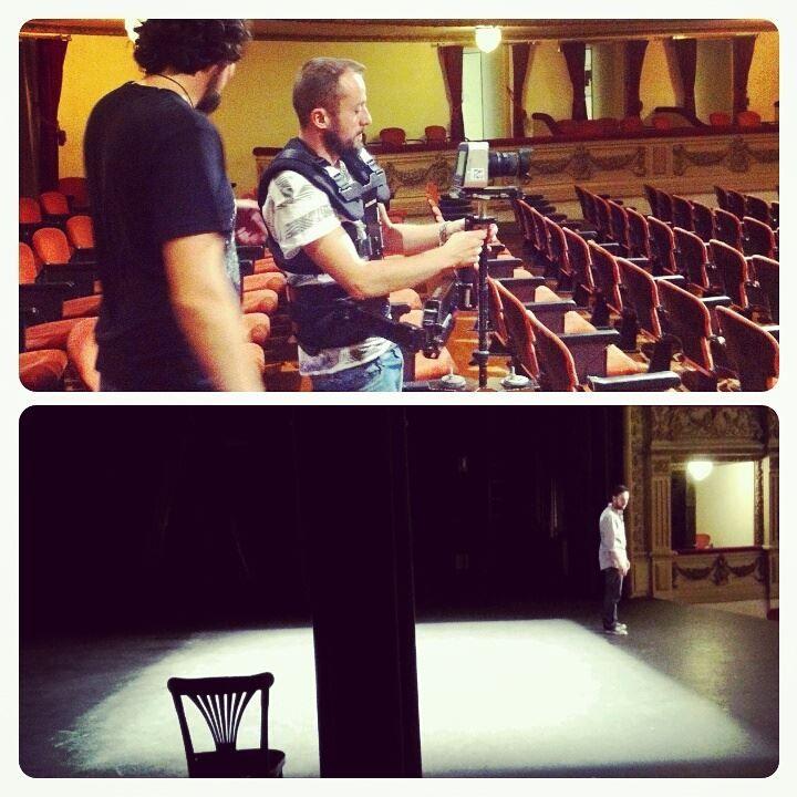 ¡Fin de rodaje en el Teatro Guimerá! Gracias al OAC del Ayuntamiento de Santa Cruz de Tenerife. #Digital104ProducciónAudiovisual #HacerUnDocu
