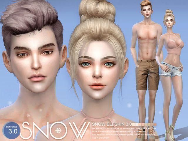 Sims 4 CC's - The Best: S-Club ts4 WMLL HS Snow Elf