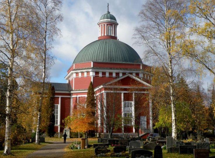 Saarijärvi church. Finland.