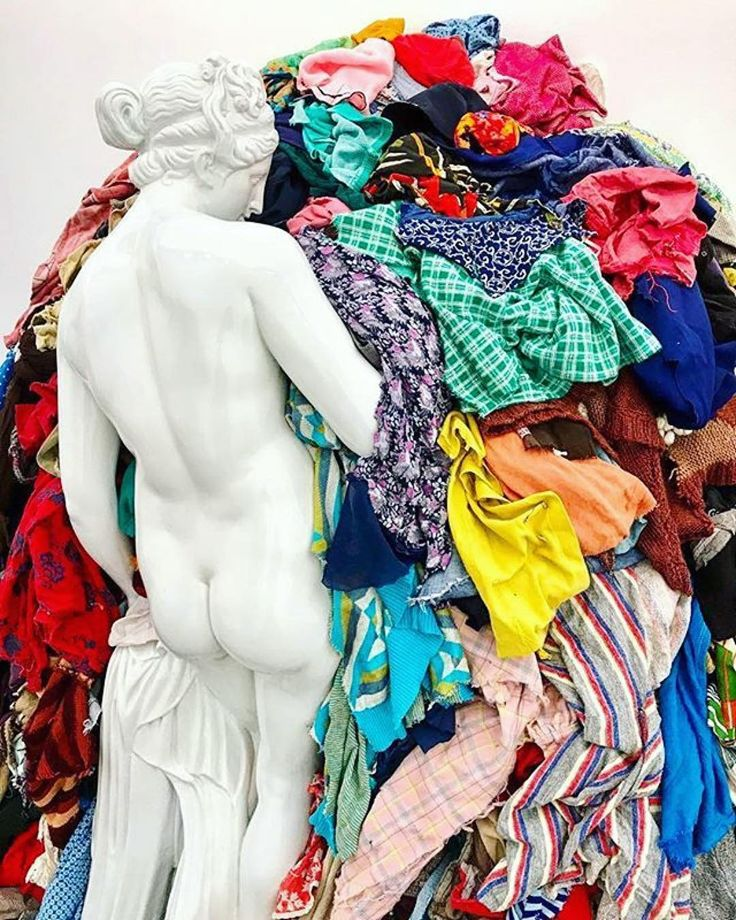 Venus of the Rags Michelangelo Pistoletto A leading figure in the movement of Arte Povera and Conceptual art Michelangelo Pistoletto is best known for his mirror paintings beginning in the 1960s. In his minus objects sculptures that explore how objects become artworks through the ideas they express Pistoletto uses poor materials as a liberation from the traditional art system as in his 1967 work Venus of the Rags a copy of the classical figure set against a mound of old clothes and rags…