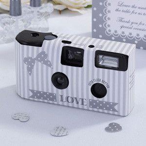 Et lækkert engangskamera til bryllup fra Jaminas. Kameraet kan skyde 27 billeder og er perfekt til bryllup.