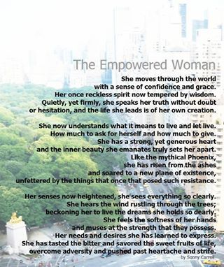 The Empowered Woman By Sonny Carroll