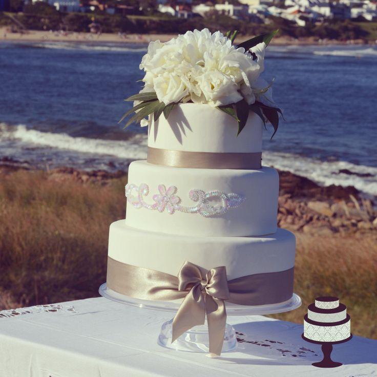 Wedding cakes, torta de bodas, para recepción en la playa