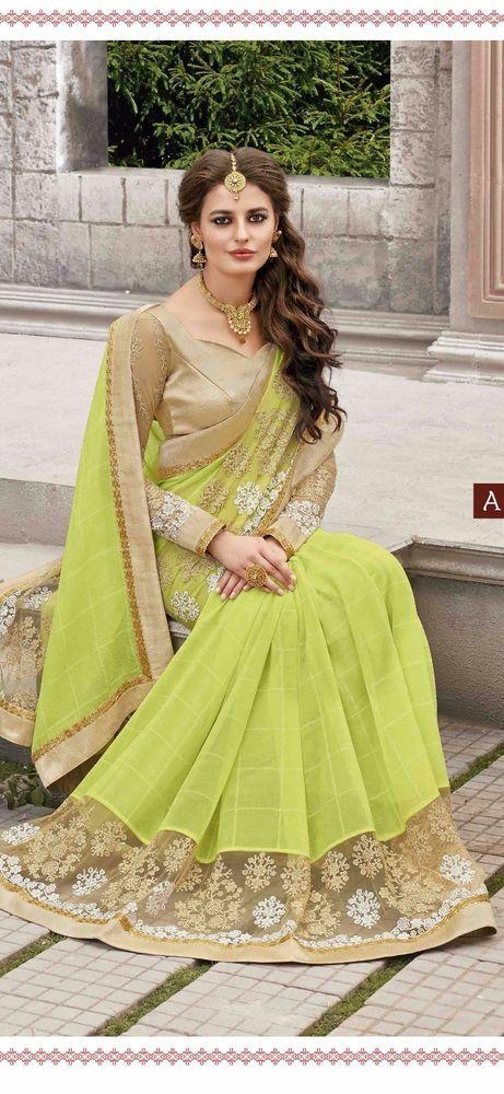 INDIAN SAREE SARI BLOUSE BOLLYWOOD DRESS DESIGNER PARTY WEAR ETHNIC WEDDING SARI #ManasCollections #SareeSari #WeddingPartyWearSaree