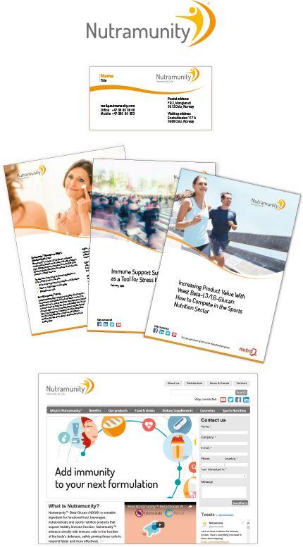 Ta en titt på @Behance-prosjektet mitt: \u201cNutramunity - design av logo, brosjyrer og nettside.\u201d https://www.behance.net/gallery/48698521/Nutramunity-design-av-logo-brosjyrer-og-nettside