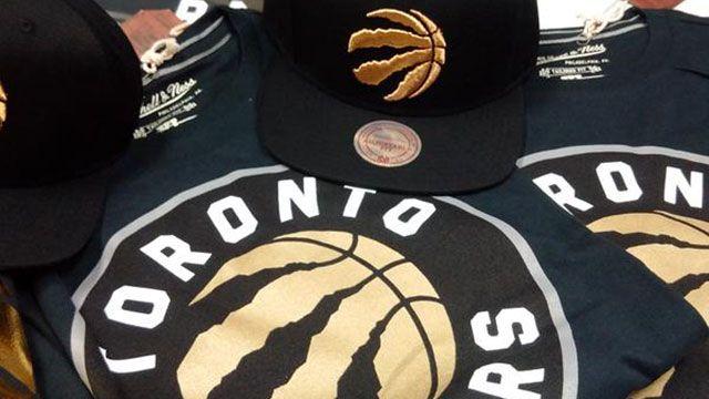 Toronto Raptors New Merchandise 2015-2016