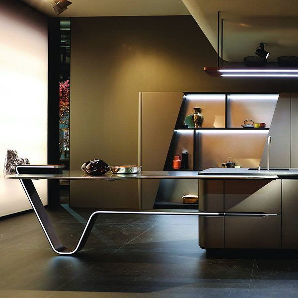 Vision By Pininfarina Office Table Design Modern Office Interiors Office Cabin Design