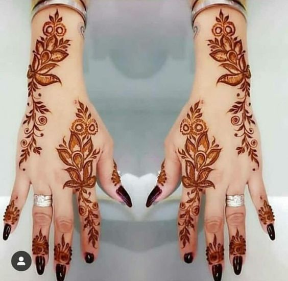 Latest Brilliant Artwork Of Mehndi Desi9gn Latest Mehndi Designs Mehndi Designs For Hands Henna Designs Hand