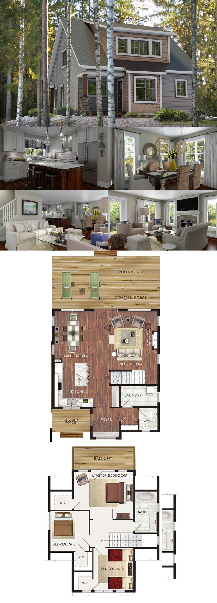 Beaver Homes & Cottages - Capilano :: 1506 sq. ft.