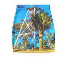 The Poppethead Lookout - Bendigo, Victoria Pencil Skirt