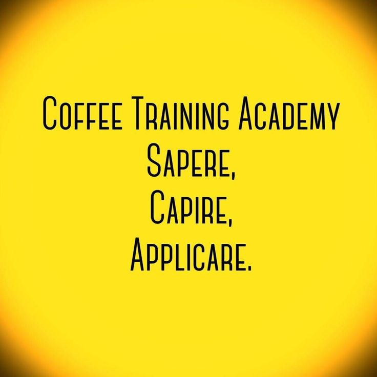 #CoffeeTrainingAcademy è #Sapere - #Conoscere - #Applicare  #SCA #Formazione nel  #Coffee #Coffeepassion  #Verona  #Barista #SpecialtyCoffee  #Accademia
