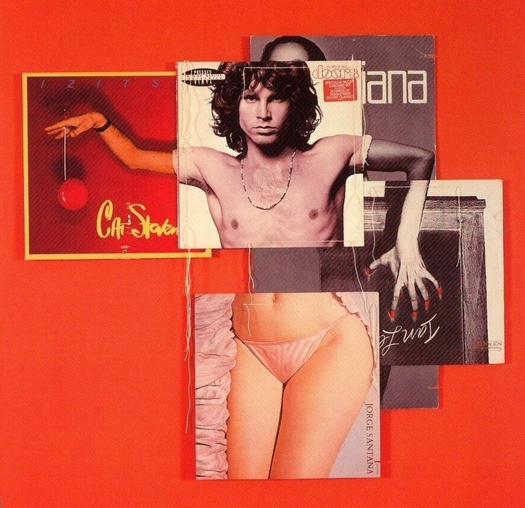 Album Covers Collages by Christian Marclay | YouArts
