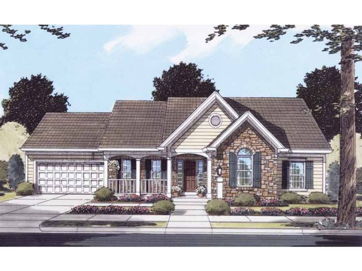 eplans french country house plan one story convenience and glamour 1498 square feet