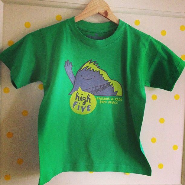 carrick-a-rede ropebridge t-shirt.