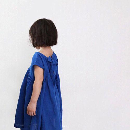 d193a77d7d84f バックリボンコットンワンピ-Tシャツ- 女の子 男の子 海外セレブ - 韓国 ...