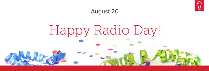 Fun Facts: AM stands for Amplitude Modulation and an AM radio wave is about as long as a football field. Happy #RadioDay!