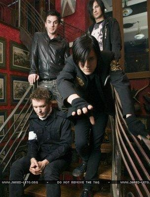 30 Seconds to Mars during the period they released A beautiful lie album, it's so great! One of the best albums ever released in our opinion! If you like 30 seconds to Mars you'd love the sound of us,download 7 songs for FREE here http://www.firstbornofficial.com/pinterestfreemusic/