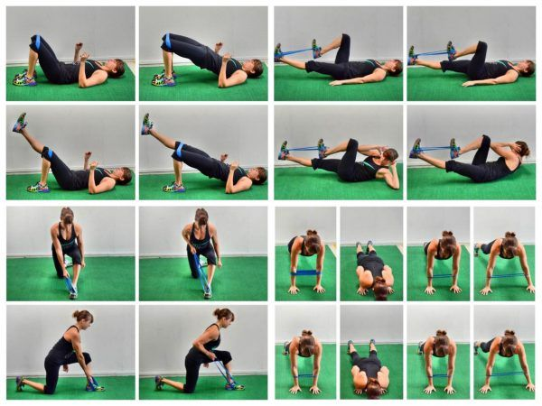 The Mini Band Full Body Workout Exercise Pinterest