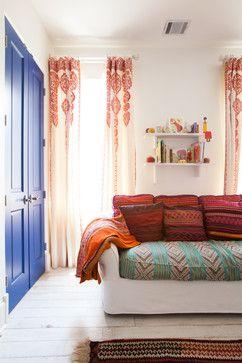 Those window treatments are heavenly!!   Southampton Moroccan - mediterranean - Kids - Houston - Laura U, Inc.