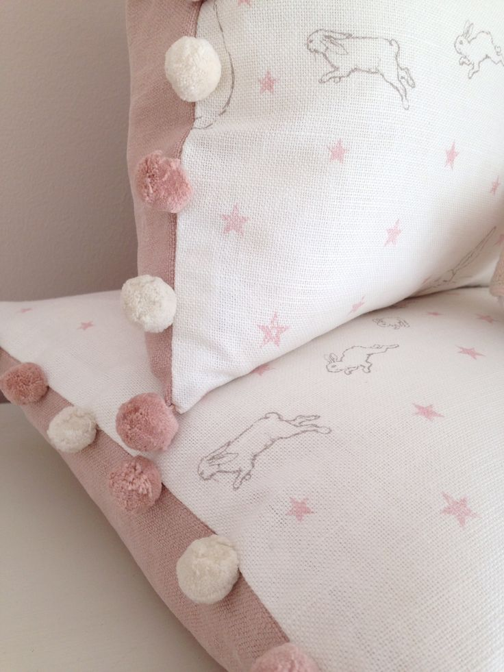 Rabbit All Star Cushions  Peony & Sage