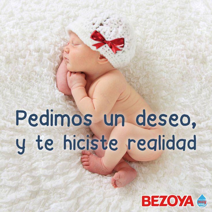 Pedimos un deseo, y te hiciste realidad. #bezoya, bebé, bebé a bordo, madre, hijo, maternidad, padres, madres, familia, primeriza, amor, niño, niña, newborn, agua, mineral natural, mineralización débil, deseo, baby, recién nacido, frase, frases bebés