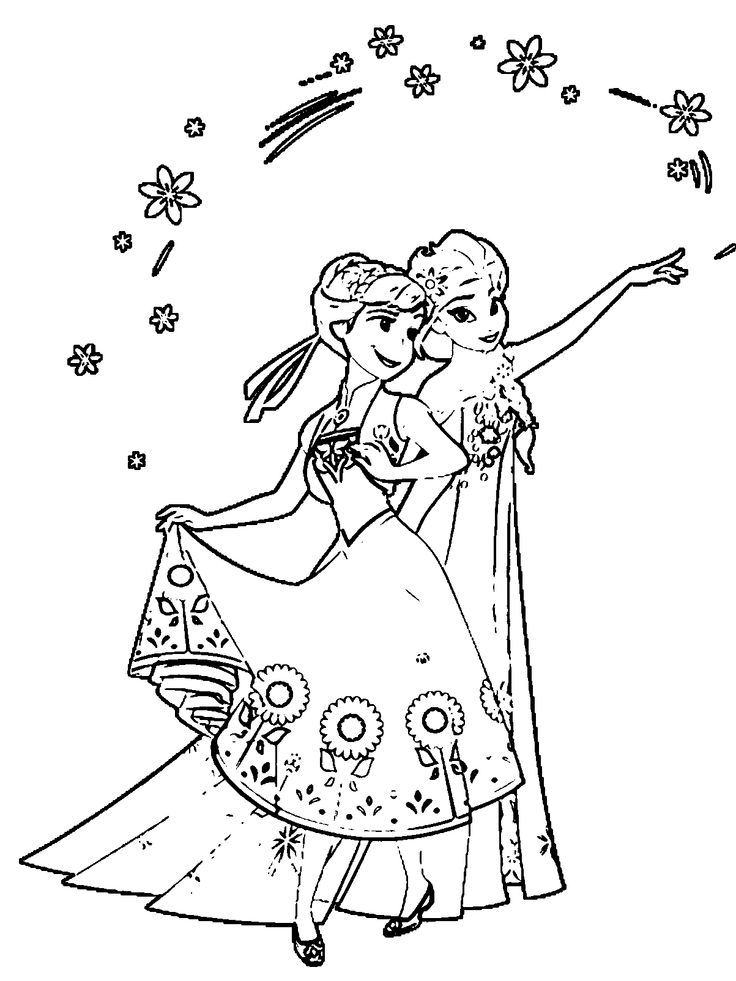 frozen 2 fever coloring pages - photo#28