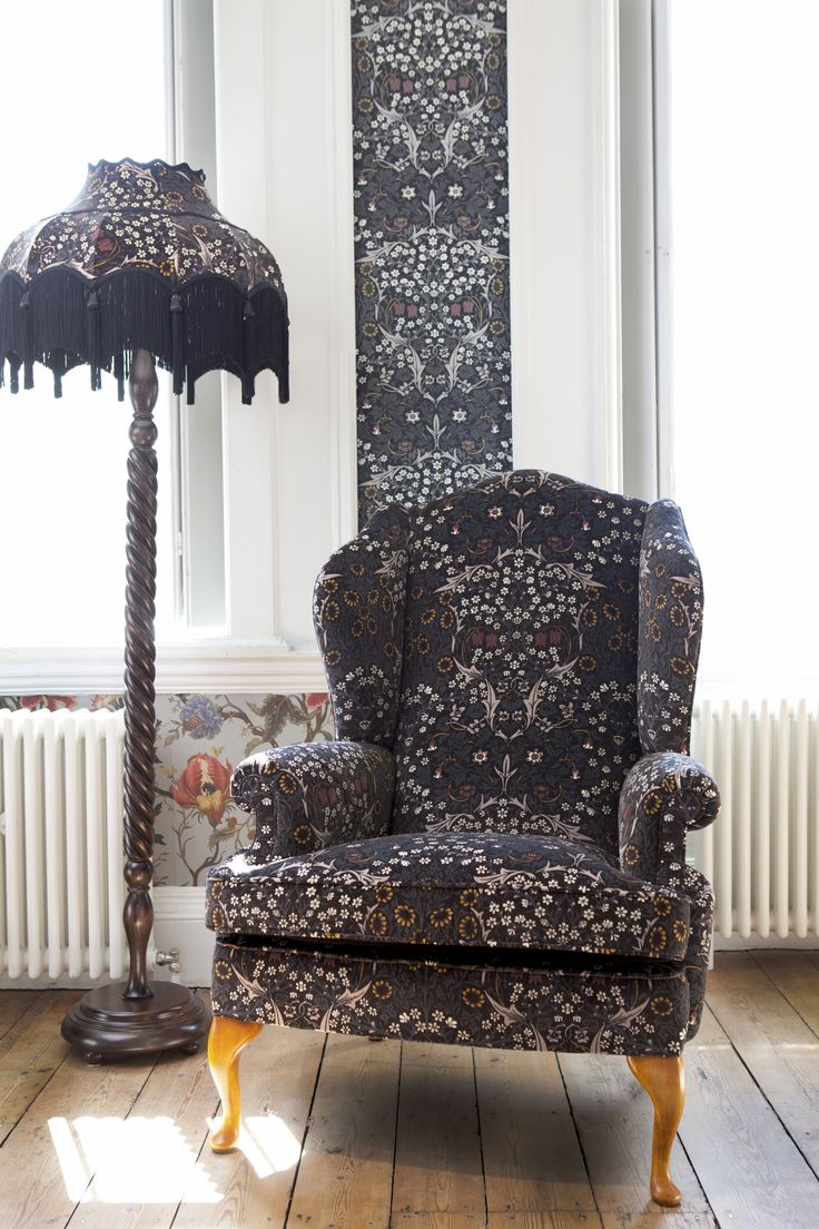 Part of the HOUSE OF HACKNEY x WILLIAM MORRIS AW15 collection:  Blackthorn Black Wallpaper http://www.houseofhackney.com/blackthorn-wallpaper-black.html, Artemis Dove Grey Wallpaper http://www.houseofhackney.com/artemis-wallpaper-dove-grey.html
