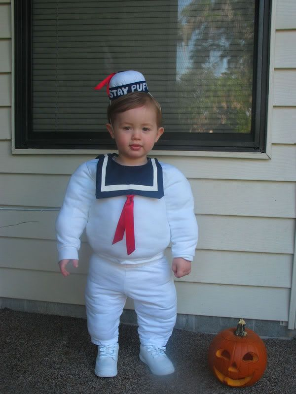 Best 25 toddler ghostbuster costume ideas on pinterest kids ghostbusters stay puft marshmallow man costume for my toddler occasions and holidays solutioingenieria Image collections