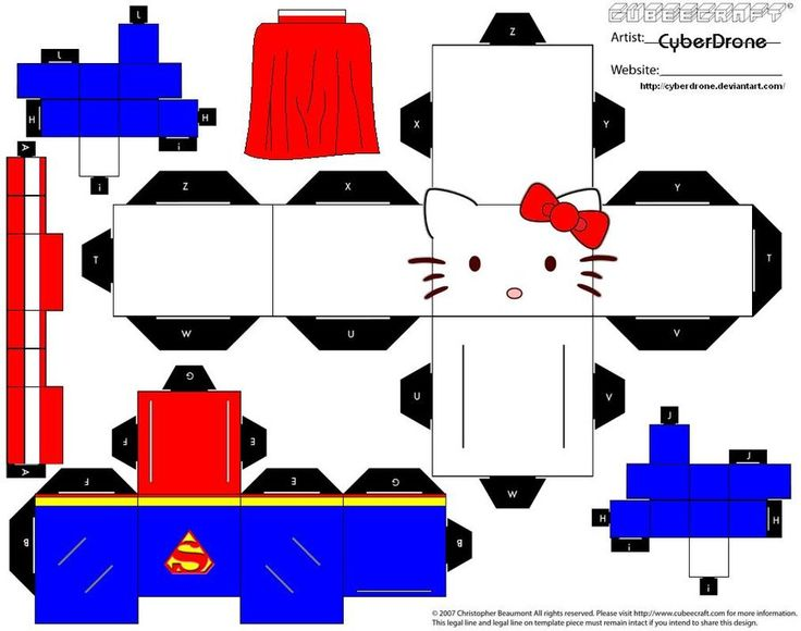 Cubee - Super Hello Kitty by CyberDrone.deviantart.com on @deviantART