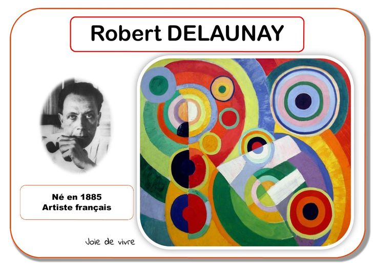 Robert Delaunay - Portrait d'artiste