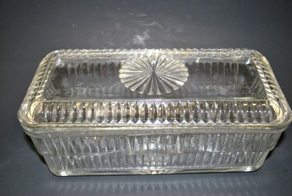 Refrigerator Dishes Clear Glass Container with by Dupasseaupresent
