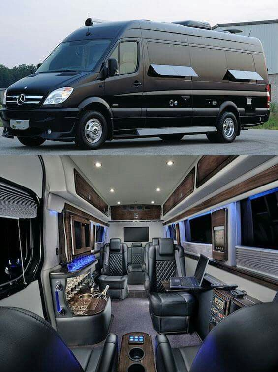 17 best images about sprinter custom vans on pinterest for Mercedes benz luxury rv