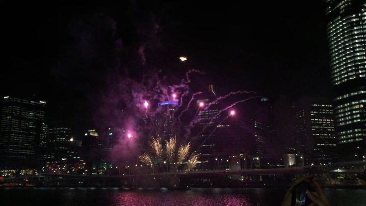Christmas Fireworks @ Brisbane